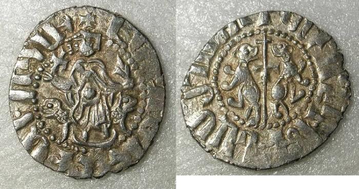 Ancient Coins - ARMENIA Levon I AD 1199-1219 AR.Tram