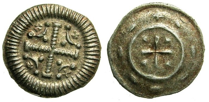 World Coins - HUNGARY.Anonymous issue.AR.Dinar.12th Cent AD.