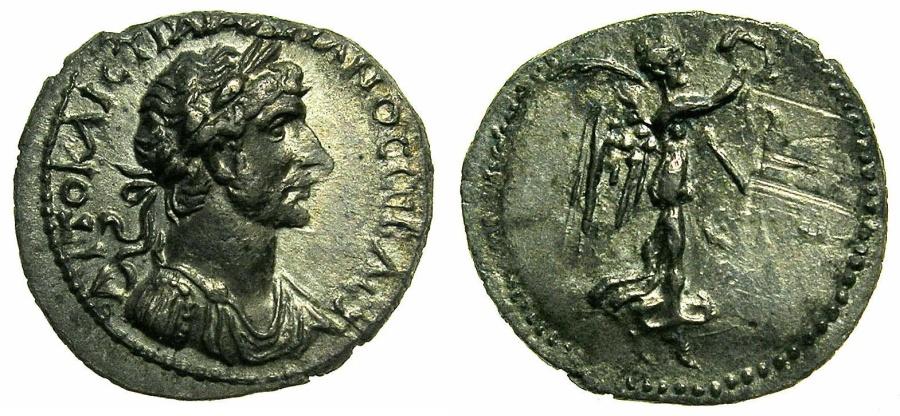 Ancient Coins - CAPPADOCIA.CAESAREA.Hadrian AD 117-138.AR.Hemidrachm.Struck AD 120/121.