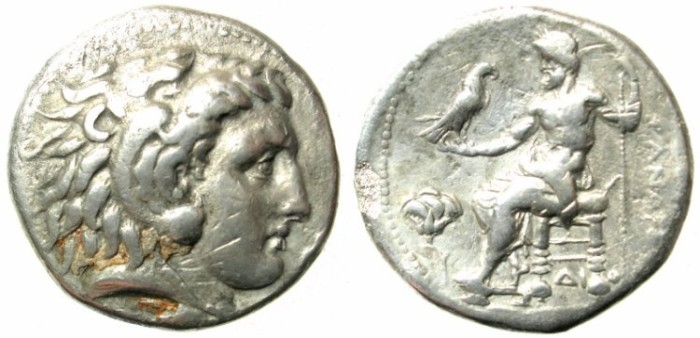 Ancient Coins - MACEDONIAN EMPIRE.Alexander III The Great 336-323BC.AR.Tetradrachm Memphis mint,