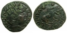 World Coins - ITALY.Kingdom of NAPLES.Ferdinand I ( Ferrante) AD 1458-94.AE.Cavallo.L''Aquila mint.