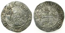 World Coins - RHODES.Knights of Saint John. Robert de Juilly AD 1324-1377.AR.Gigliato.