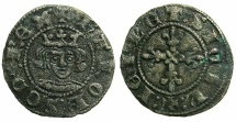 World Coins - ITALY.NAPLES.Charles II of Anjou AD 1285-1309.Bi.Denaro Regale.Struck c.1290-1292.