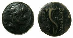 Ancient Coins - SELEUCID EMPIRE.Alexander II Zebina 128-123 BC.AE.21.Type C. Mint of ANTIOCH