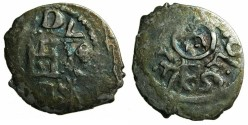 World Coins - CRUSADER.CAFFA.Genoese colony.Filippo Maria Visconti AD 1421-1435 naming Ulugh Mohammed Khan AD 1427-1433.AR.Bi-lingual Asper.