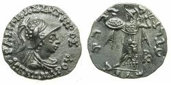 Ancient Coins - INDO-GREEK.BAKTRIA.Menander I Soter circa 155-130 BC.AR.Drachma.  struck from Very detailed dies