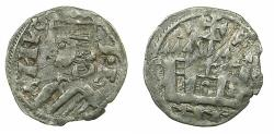 World Coins - SPAIN.CASTILLE.Alfonso VIII AD 1158-1214.Billon Denaro.Mint of CUENCA.