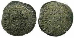 World Coins - BOURGOGNE, DUCHY OF.Charles le Termraire AD 1467-1477.AR.Grand Blanc or Briquet, 2nd Type, struck after AD 1475.