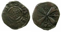 World Coins - CRUSADER STATES.TRIPOLI.Raymond II AD 1137-1152 or Raymond III AD 1152-1187.AE.Fraction.Type 3.Struck circa 1165 - circa 1173/4.