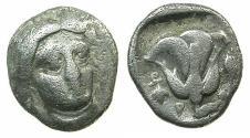 Ancient Coins - Islands of CARIA.RHODES. Circa 340-316 BC.AR.Hemidrachm.