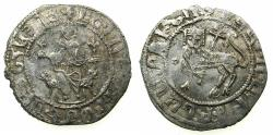 World Coins - ARMENIA.Levon I AD 1198-1219.AR.Double Tram.