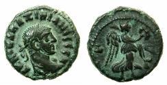 Ancient Coins - EGYPT.ALEXANDRIA.Maximianus Heraclius AD 286-305.Billon Tetradrachm, struck AD 287/88.Reverse. Nike flying right.