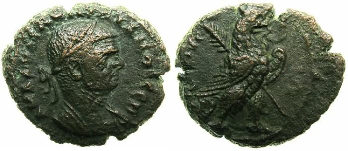Ancient Coins - EGYPT.ALEXANDRIA.Aurelian AD 270-275.Billon Tetradrachm.AD 274/275.~~~Unusal portrait of Aurelian.