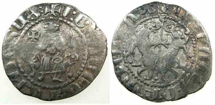 World Coins - CILICIAN ARMENIA.Levon I 1199-1219.AR.Tram.