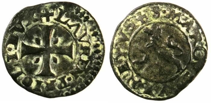 Ancient Coins - CYPRUS, under Venice.Lorenzo Priuli AD 1556-1559.Bi.Carzia per Cipro.