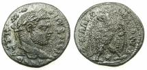 Ancient Coins - LAODICEA AD MARE.Caracalla Emperor AD 212-217.Billon Tetradrachm.6th  Group.AD 215-217.