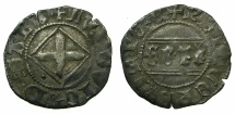 World Coins - ITALY.SAVOY.Ludovico AD 1440-1465.Billon Quarto.1st Type. Unpublished legend varient?