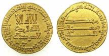 Ancient Coins - ABASSID.al-Mansur 136-158H ( AD 754-75 ).AV.Dinar.156H ( AD 773 ).No mint signature but assigned to Medinat al-Salam ( Baghdad ).