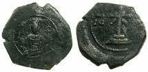 Ancient Coins - BYZANTINE EMPIRE.Manuel I AD 1143-1180.AE.Tetateron.Mint of THESSALONIKI.
