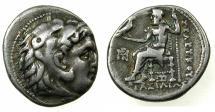 Ancient Coins - SELEUCID EMPIRE.Seleukus I 312-320 BC.AR.Drachma.Mint of Seleucia-on-the-Tigris?. ***Alexander type Drachm, VERY RARE ***