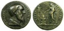 Ancient Coins - Kimon, Athenian statesman died 449 BC.Cast.AE.Medallion late 18th-early 19th cent, after Valerio Belli ( c.1468-1546 )