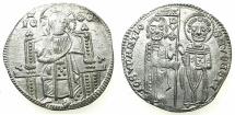 World Coins - ITALY.VENICE.Giovanni Soranzo AD 1312-1328.AR.Grosso.