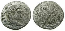 Ancient Coins - LAODICEA AD MARE.Caracalla Emperor AD 212-217.Billon Tetradrachm.6th  Group.AD 215-217.