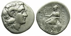 Ancient Coins - THRACE.Lysimachos 305-281 BC.AR.Drachma, struck circa 294-287 BC.Mint of EPHESUS.