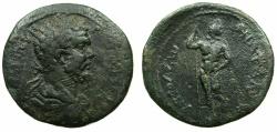 Ancient Coins - MYSIA.APOLLONINA. Septimius Severus AD 193-211.AE.33mm. Nake Zeus ? standing.
