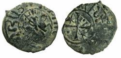 World Coins - ARMENIA, Cilician kingdom.Hetoum I AD 1226-1270.AE.Kardez.Mint of SIS. Equestrian type.