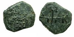 Ancient Coins - BYZANTINE EMPIRE.Manuel I Comnenus AD 1143-1180.AE.Half Tetarteron.Uncertain Greek mint.