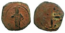 Ancient Coins - BYZANTINE EMPIRE.Andronicus III AD 1328-1341.AE.Assaria.Class IV.Mint of Constantinople.