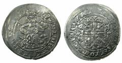 World Coins - ANATOLIA.Beyliks of Aydin or Mentesche?.Anonymous.AR.Gigliato, 14th Cent AD.After Provence issue of Robert of Anjou ( 1309-1343). Degenerate legends.