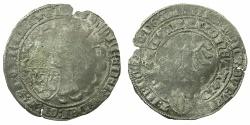 World Coins - UTRECHT.Archbishop Freidich Von Blankenheim AD 1393-1423.AR.Dopplegroot.