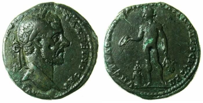 Ancient Coins - MOESIA INFERIOR.NIKOPOLIS AD ISTRUM.Macrinus AD 217-218.AE.25.Apollo.