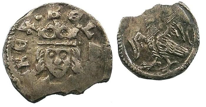 Ancient Coins - HUNGARY.Bela IV 1235-1270.AR.Denar