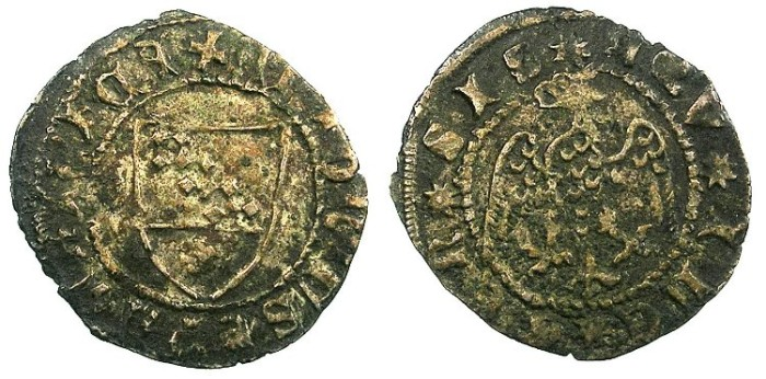 World Coins - ITALY.AQUILEIA.Antonio II Pauciera 1402-1411.AR.Denaro