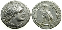 Ancient Coins - PTOLEMAIC EMPIRE.EGYPT.ALEXANDRIA.Ptolemy V Epiphanes 205-180 BC.AR.Tetradrachm.