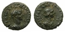 Ancient Coins - EGYPT.ALEXANDRIA.Aurelian and Vaballathus AD 270-271 .Bi.Tetradrachm.AD 270. Large busts