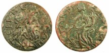Ancient Coins - PISIDIA.TERMESSUS MAJOR. C.3rd-4th .AD.Autonomous issue.AE.27.~#~.Tyche.