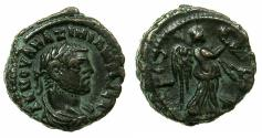 Ancient Coins - EGYPT.ALEXANDRIA.Maximianus Heraclius AD 286-305.Billon Tetradrachm, struck AD 290/91. Reverse. Nike right.