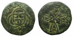 World Coins - ITALY.SAVOY.Carlo Emmanuele I AD 1580-1630.AE.Parpagliola.2nd type. N.D.***Extremely Rare**