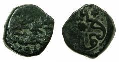 World Coins - TURKEY.OTTOMAN EMPIRE.Murad III 982-1203H (AD 1574-1595).AE.Mangir.983H.Mint of KONSTANTINIYE.