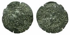 World Coins - SPAIN.CASTILE-LEON, kingdom.John II AD 1406-1454.Billon.Blanca.Mint of SEVILLE.