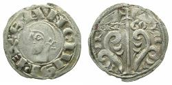 World Coins - SPAIN.ARAGON.Sancho Ramirez AD 1063-1094.AR.Dinero.