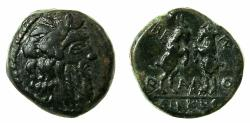 Ancient Coins - MACEDON.THESSALONIKI.Circa 187-31 BC.AE.20mm. Reverse. Two Goats on hindlegs.