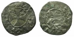 World Coins - FRANCE.PENTHIEVRE.Etienne I AD 1093-1138.Billon Denier.