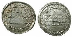 World Coins - ABBASID CALIPHS.Huran al-Rashid 170-193H ( AD 786-809 ).AR.Dirhem.dated 173H. Mint: Medinat al Balkh.***RARE MINT ***