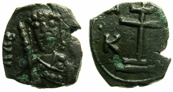 Ancient Coins - BYZANTINE EMPIRE.THESSALONIKA.Alexius I Comnenus AD 1081-1118.AE.1/2 Tetateron.