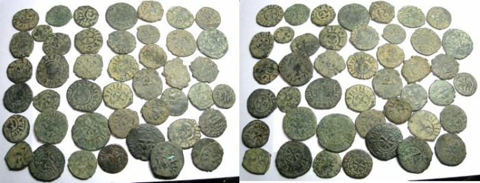 Ancient Coins - ARMENIA.Group of 44 copper coins.